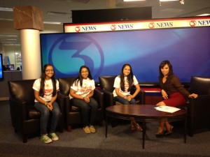 Channel 3 Corpus Christi; Interview of Surani Sisters with Jane Monreal