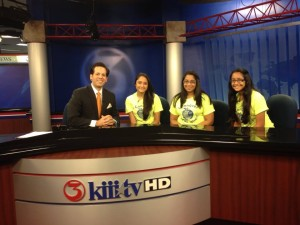 Surani Trio in Channel 3 Kiii TV promoting Healthy Habits